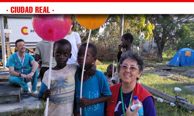 Una enfermera ciudadrealeña formó parte del equipo 'Start' enviado por la Agencia Española de Cooperación Internacional a Mozambique