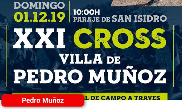 XXI Cross Villa de Pedro Muñoz Circuito Regional de Campo a Traves