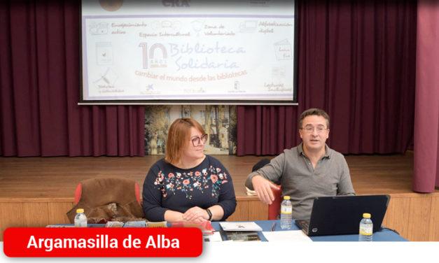 Argamasilla de Alba acoge una jornada informativa sobre el Programa Biblioteca Solidaria