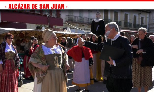 Danza, actuaciones y música, protagonistas de la IV Cabalgata Cervantina en honor al ilustre escritor en Alcázar de San Juan