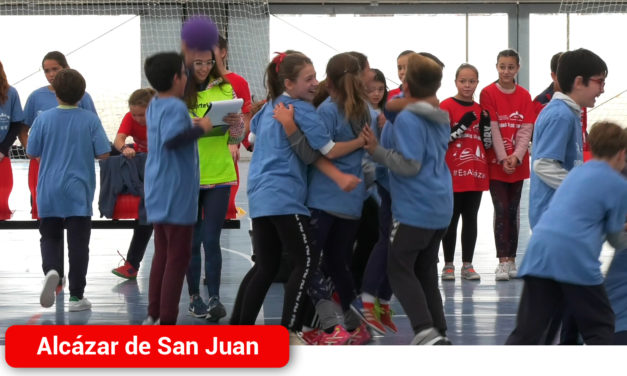 Más de 300 escolares de 6° de Primaria disfrutan de la I Olimpiada de Valores en Alcázar de San Juan