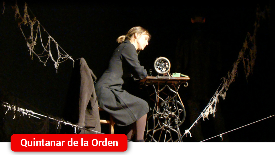 "La obra teatral ""La voz dormida"" conquista al público quintanareño - Mancha Media"