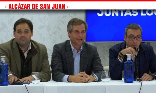 El Partido Popular reúne a los presidentes de las Juntas Locales de Castilla-La Mancha para trasladar las políticas antes del 10-N en Alcázar de San Juan