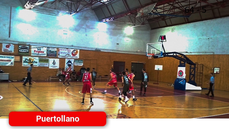 Gran victoria del equipo senior del Basket Puertollano ante un joven y talentoso CB Villarrobledo por 72 a 64 - Mancha Media