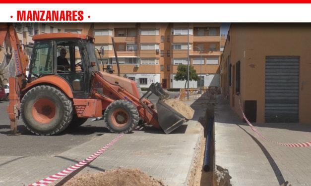 El barrio del Nuevo Manzanares y la zona de los institutos se conectan a la nueva red de abastecimiento