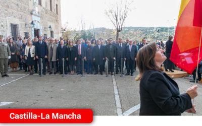 """García-Page destaca la calidad democrática de España y lamenta el """"mercadeo territorial"""" en el que se ha convertido el Congreso"""