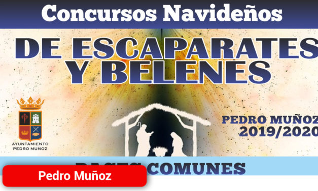 Concursos de Escaparates y de Belenes llenan de magia y color las calles de Pedro Muñoz
