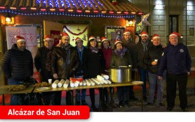 La inauguración de la Caseta de Papá Noel da el pistoletazo de salida a la recogida de cartas y deseos de los más pequeños en Alcázar de San Juan
