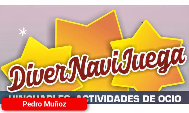"""""""Divernavijuega"""" hinchables actividades de ocio y juegos infantiles para los días de Navidad en Pedro Muñoz"""