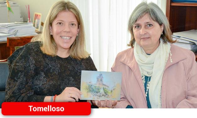 Un trabajo de Conchi Lomas ilustrará la felicitación de Navidad de la alcaldesa