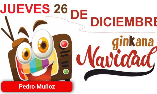 """El día 26 de diciembre se celebra la Gran Ginkana de Navidad en Pedro Muñoz bajo el lema """"televisiva"""""""