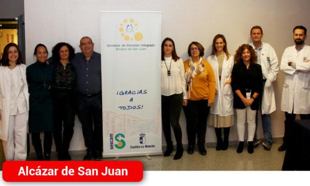 Profesionales sanitarios de la Gerencia de Alcázar de San Juan actualizan y unifican criterios de actuación en torno a la menopausia