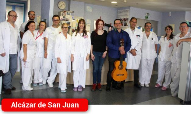 """La Escuela Municipal de Música continúa con los conciertos del proyecto """"Música en el hospital"""" e inicia un Taller en el Centro de Mayores"""