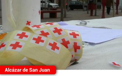 Cruz Roja celebra el Día de la Banderita manteniendo el espíritu solidario en Alcázar de San Juan