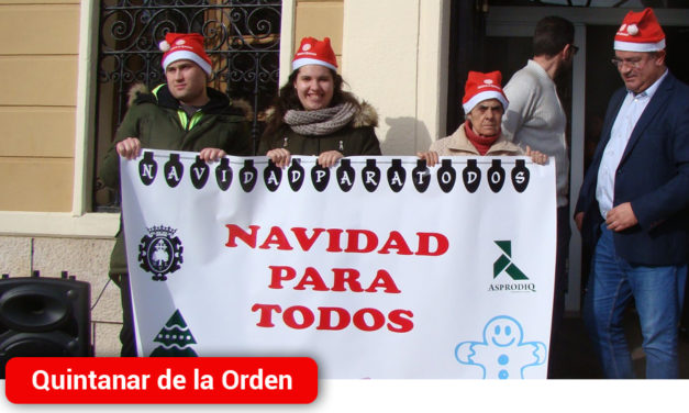 Quintanar celebra con éxito un encuentro intergeneracional navideño