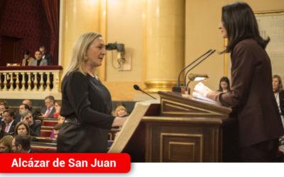 Jesús Martín, Carmen Mínguez y José Manuel Bolaños, adquieren su condición plena de senadores