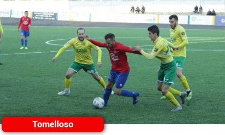 El Atlético Tomelloso cae derrotado ante Huracán Balazote