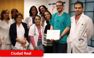 La Unidad de Asma del Hospital de Ciudad Real recibe la acreditación de calidad de la Sociedad Española de Neumología y Cirugía Torácica