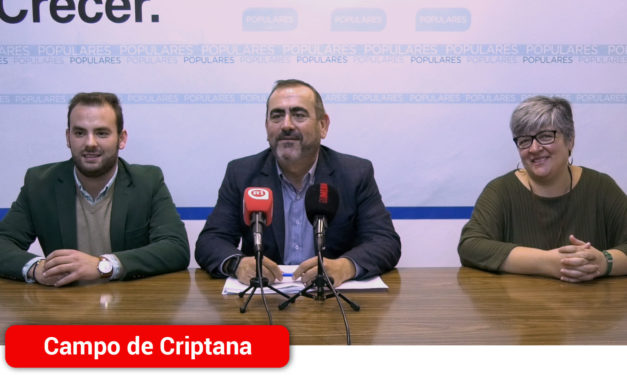 """El Grupo Municipal Popular de Campo de  Criptana acusa al equipo de Gobierno de """"preferir que el dinero que puede destinarse al pueblo, vaya a pagar sus sueldos"""""""