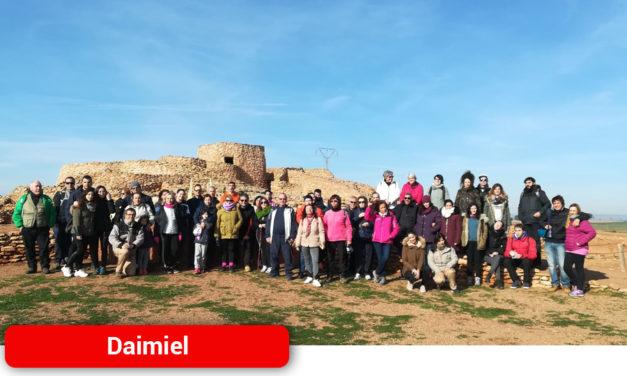 Amplia participación en la ruta senderista a la Motilla del Azuer para cerrar 2019