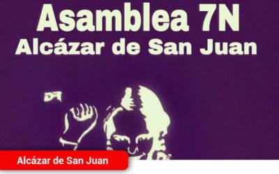 Asamblea Feminista 7N Alcázar
