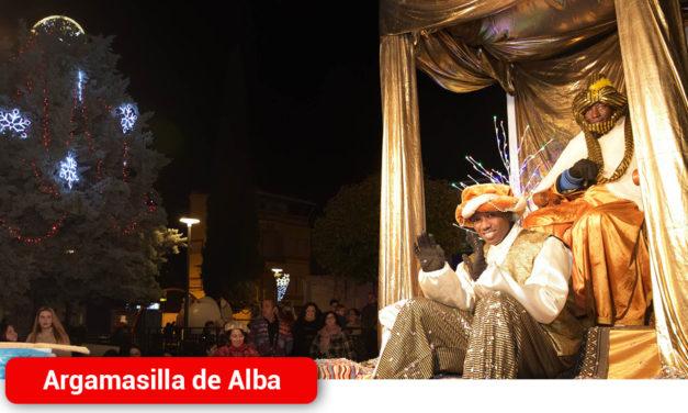 Melchor, Gaspar y Baltasar llegan a Argamasilla de Alba