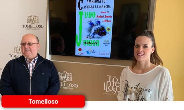 Tomelloso acoge este sábado, 11 de enero, el Campeonato de Judo Sub-21 de Castilla-La Mancha