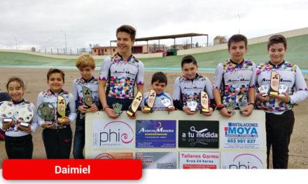 La labor del Club Ciclista Daimiel se coloca entre las mejores escuelas de ciclismo de la región