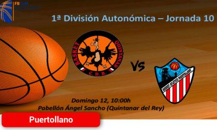 Contundente derrota del CD Basket Atlético Puertollano en Quintanar del Rey por 87 – 70
