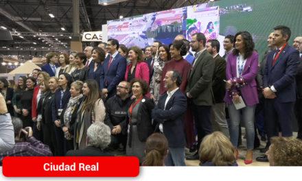 Ciudad Real presenta el proyecto Titanes en Fitur, un museo al aire libre ejemplo de integración social y laboral