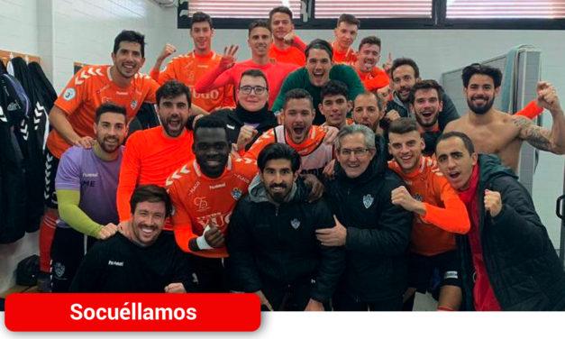 La UD Socuéllamos se lleva una trabajada victoria en el campo del CD Manchego