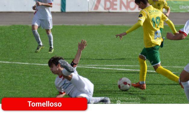 Jornada amarga para el Atlético Tomelloso tras la derrota del Juvenil A en Albacete y el empate ante el Criptanense