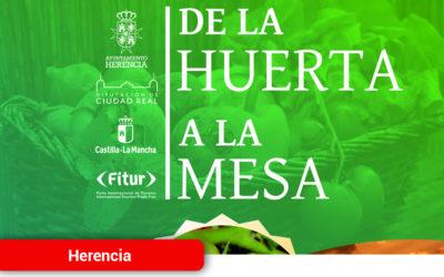 El Ayuntamiento de Herencia mostrará en Fitur la calidad de los productos de su huerta