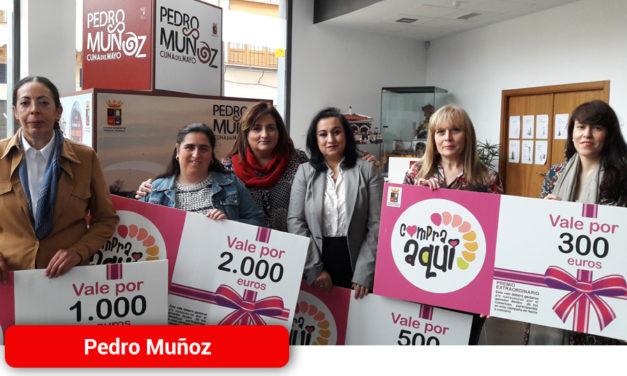 """Mes intenso en Pedro Muñoz para comercios y ganadoras de la Campaña """"Compra Aquí"""""""