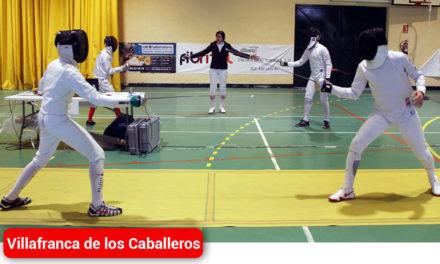 Villafranca acoge el II Torneo Regional de Esgrima con 42 tiradores y tiradoras