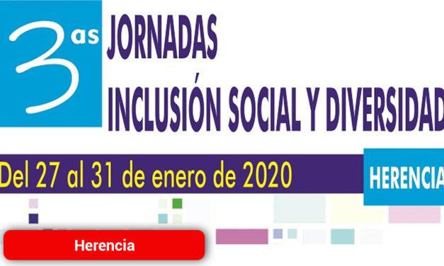 Herencia presenta las III Jornadas de Inclusión Social y Diversidad
