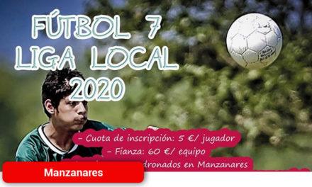 Abiertas las inscripciones para la liga local de fútbol 7