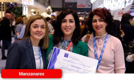Manzanares recibe un reconocimiento del Gobierno de España en Fitur 2020