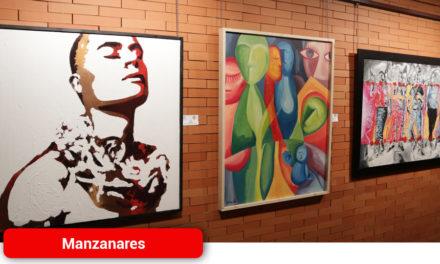 Llega a Manzanares la «vida y color» de la exposición de Pintores D´Artes de Valdepeñas