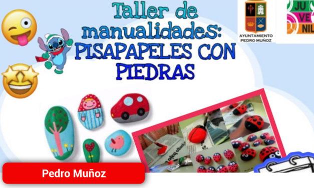 Pisapapeles con piedras el sábado 25 en el Centro Juvenil de Pedro Muñoz