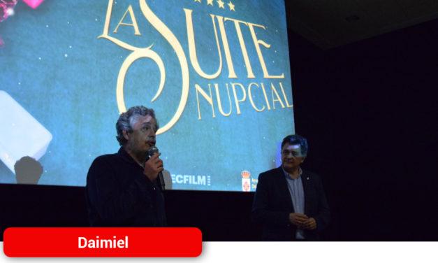 Carlos Iglesias derrocha cercanía y simpatía en su visita a Daimiel Cinema