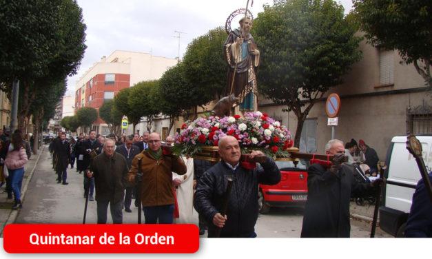 Quintanar honra al patrón de los animales, San Antón, con diversos actos lúdicos y religiosos