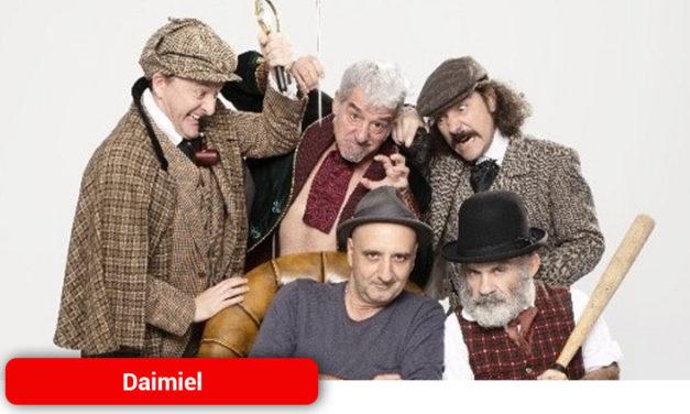 El Sherlock Holmes más loco llega al teatro Ayala