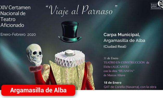 El Certamen Nacional de Teatro Aficionado 'Viaje al Parnaso' anuncia las obras finalistas y ganadoras