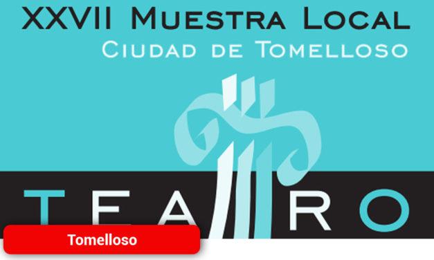 """Cinco grupos participarán del 17 de enero al 15 de febrero en la XXVII Muestra Local de Teatro """"Ciudad de Tomelloso"""""""