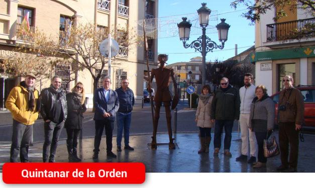 Una escultura de Don Quijote presidirá la Plaza de la Constitución de Quintanar de la Orden