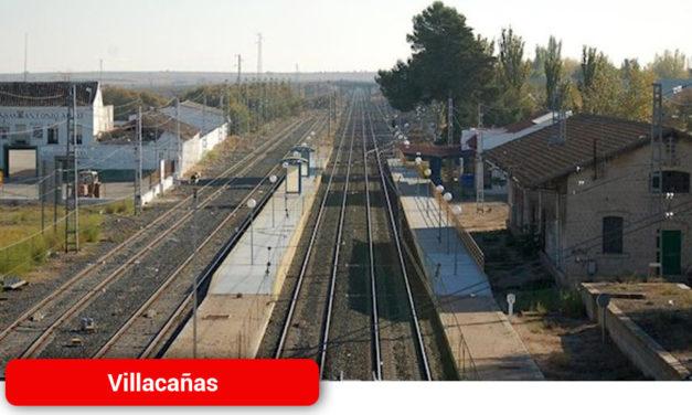 Villacañas vuelve a alertar a ADIF de la necesidad de contar con personal en la estación para regular el tráfico de trenes