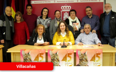Presentado el programa del 45º Festival de Teatro Aficionado de Villacañas
