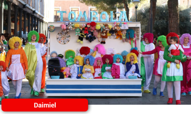 Los talleres infantiles toman el relevo a los desfiles del Carnaval daimieleño