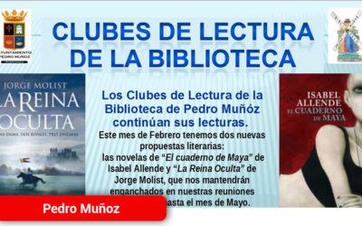 Clubes de Lectura de la Biblioteca de Pedro Muñoz